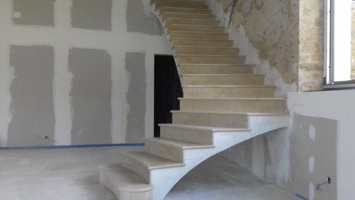 escalier voûte sarrazine