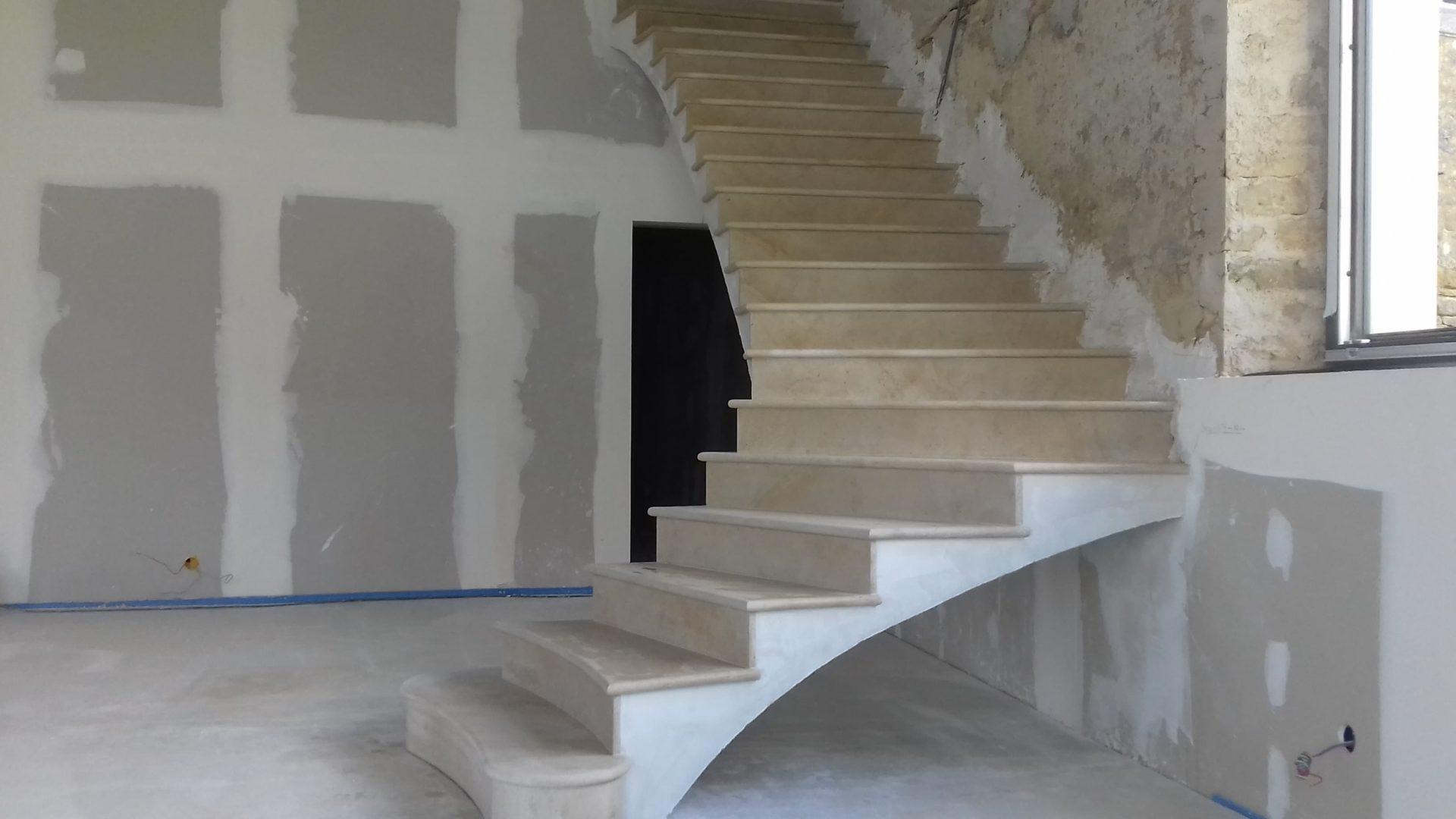 Escalier Bois Entre Deux Murs qu'est ce qu'un escalier en voûte sarrasine ? • sebeler