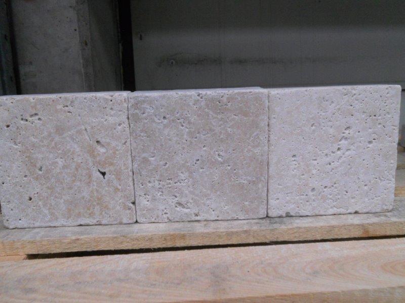 Pavé en pierre tons gris